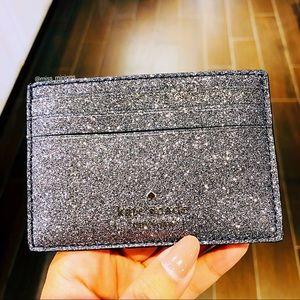 Kate Spade Odette Small Slim Glitter Cardholder